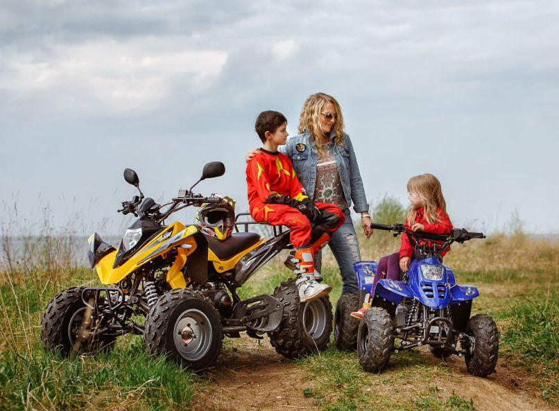 Выбор детского квадроцикла
