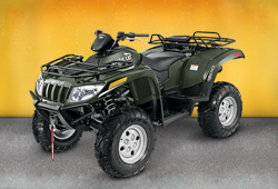 Квадроцикл 2014 Arctic Cat SUPER DUTY DIESEL 700