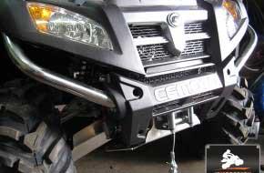 CFMOTO X8 — установка защиты днища