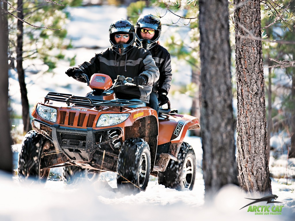 ремонт квадроцикла Arctic Cat