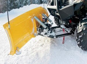 Снегоотвал для квадроцикла
