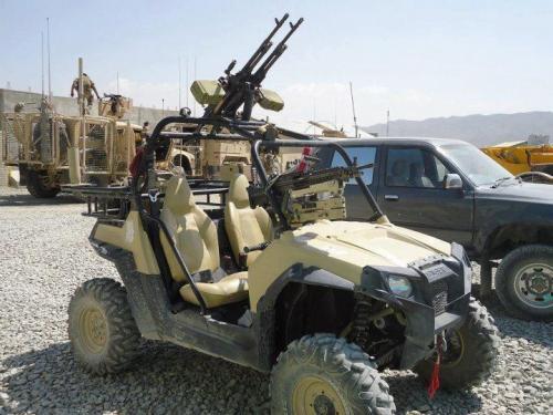 Оснащение военного квадроцикла
