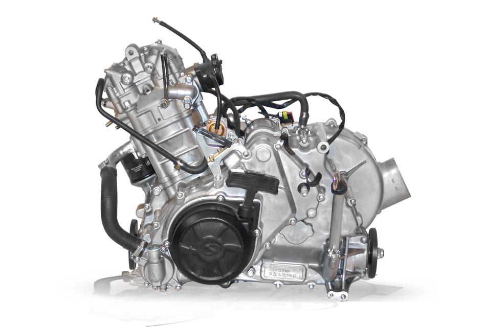 Двигатель Hisun 500 EFI