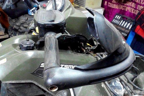 Защита рук для квадроцикла – зачем нужна, как выбрать и установить