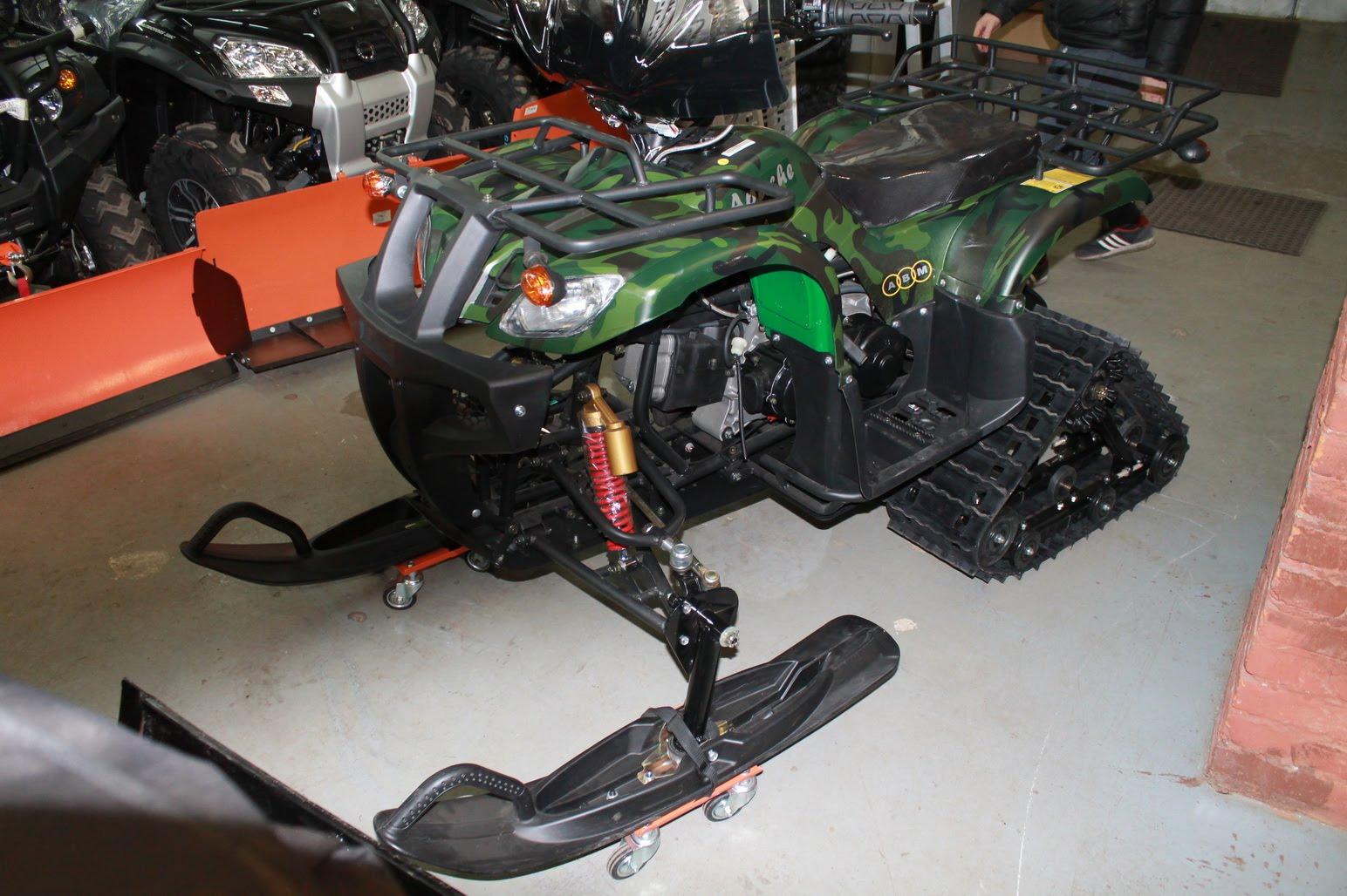 Комплектация снегохода квадроцикла Apache Track 200cc