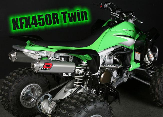 Особенности квадроцикла Kawasaki KFX 450 R