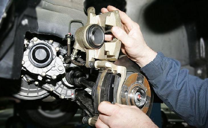 Ремонт тормозной системы квадроцикла