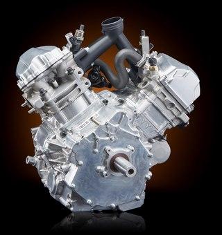 Двухтактный двигатель для квадроцикла