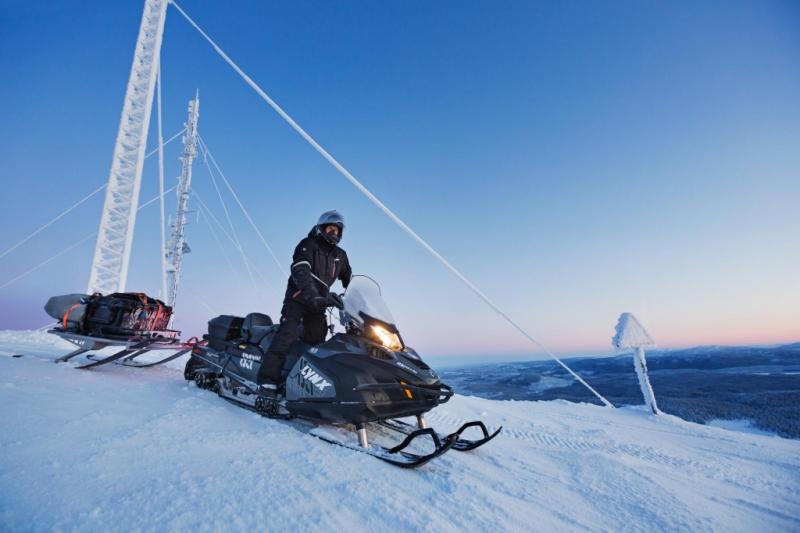 Финский снегоход Lynx-69 Army Yeti 600 ETEC