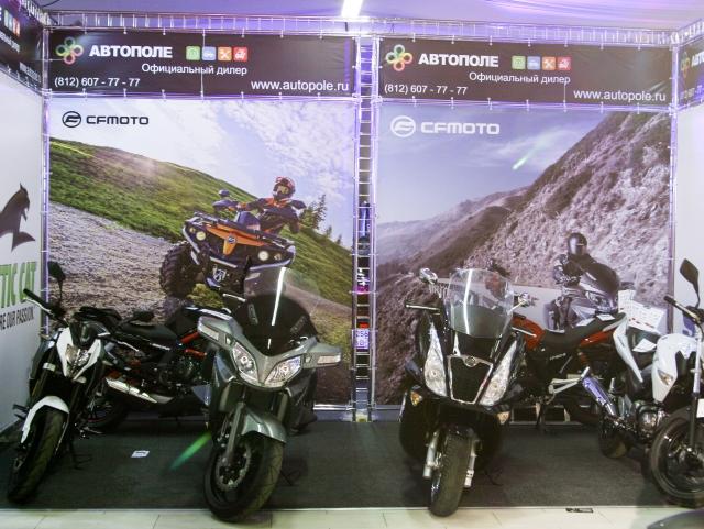 Мотоциклы и скутеры CFMOTO