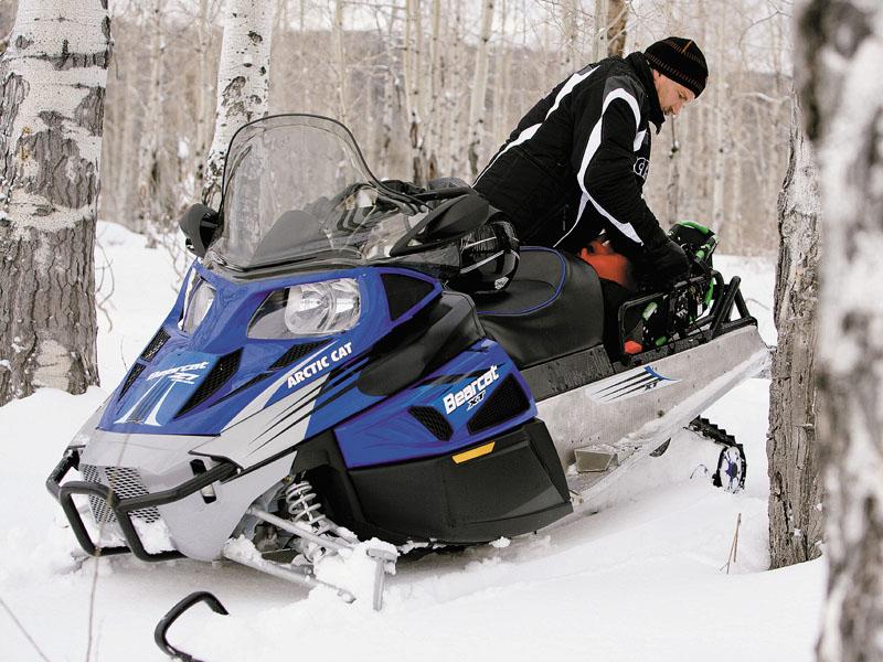 Подготовка к первой поездке на снегоходе