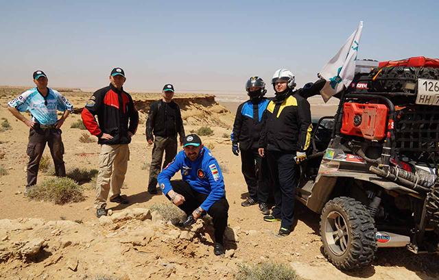 Путешественники в пустыне