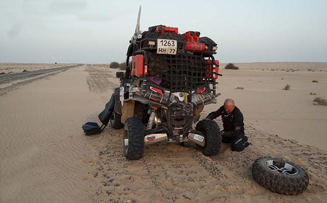 Железная дорога в пустыне