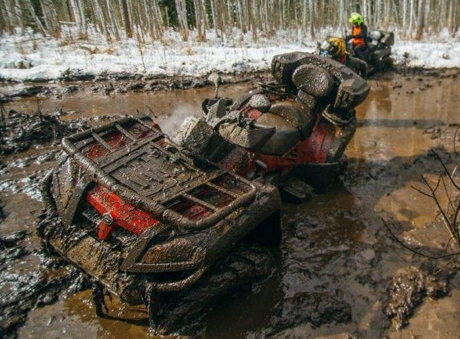 Езда на квадроцикле по грязи: подготовка