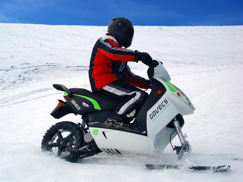 Купить электрический снегоход