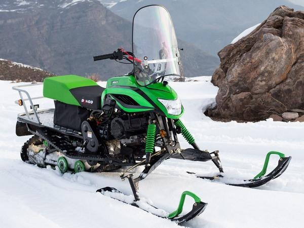 Мощность мини снегоходов