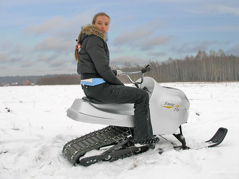 Преимущества мини снегоходов