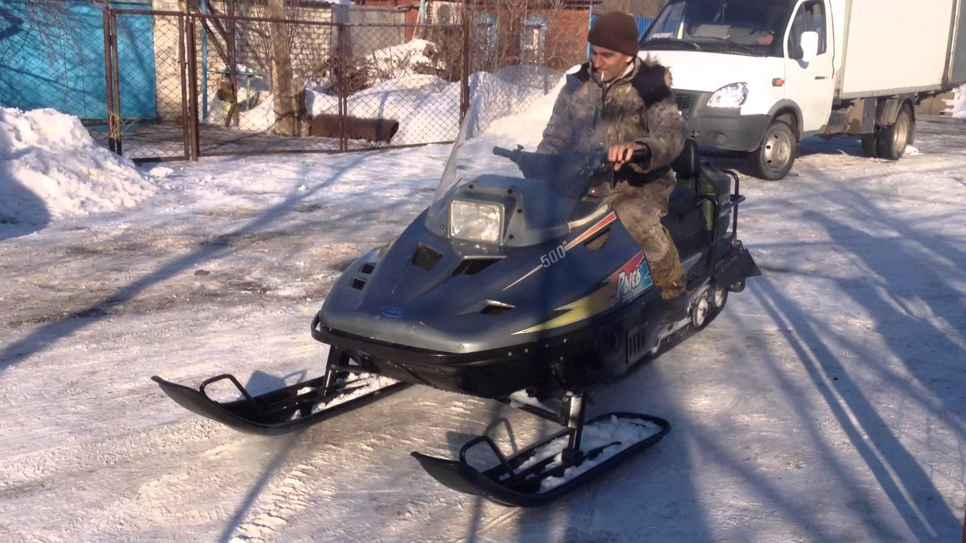 Преимущества снегоходов Рысь
