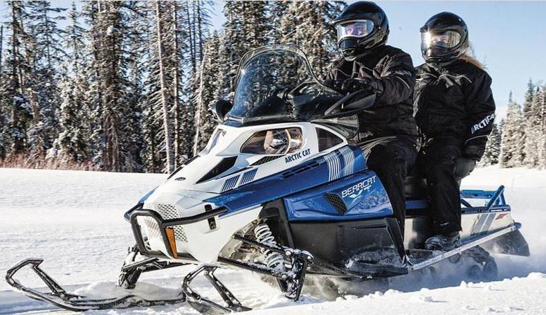 Тест драйв утилитарных снегоходов