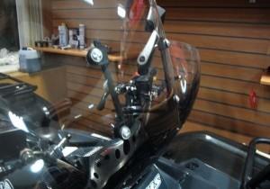 Установка ветрового стекла на квадроцикл