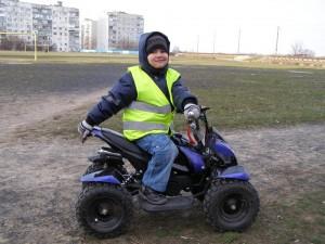 Тюнинг детского квадроцикла