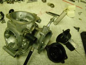 ремонт карбюратора квадроцикла