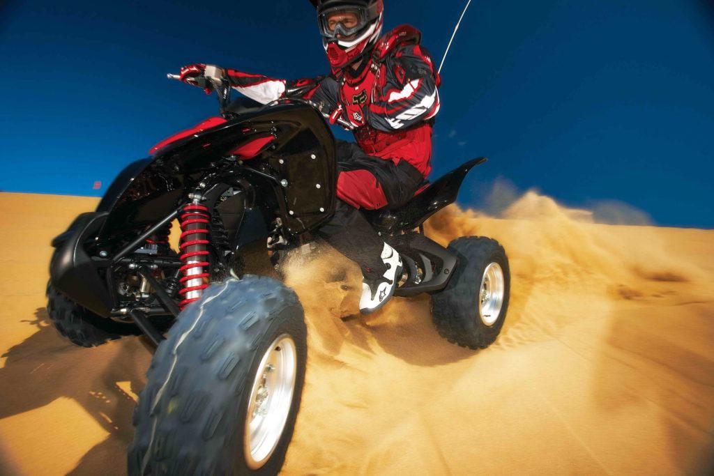Обзор спортивного квадроцикла Honda TRX700