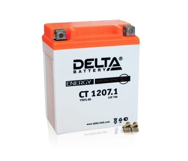 Delta CT 1207.1 аккумулятор для квадроцикла
