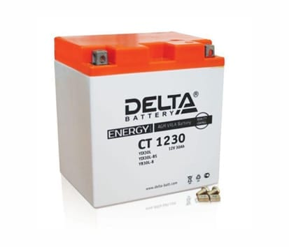 DELTA CT 1230 аккумулятор для квадроцикла
