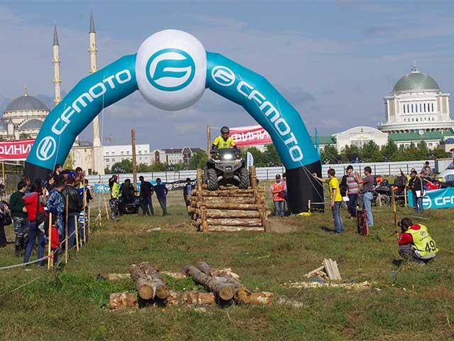 В Грозном прошли квадро-соревнования