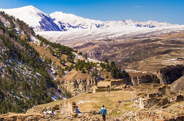Квадропоход по горам Чечни