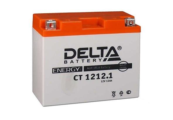 Delta CT 1212.1 аккумулятор для квадроцикла