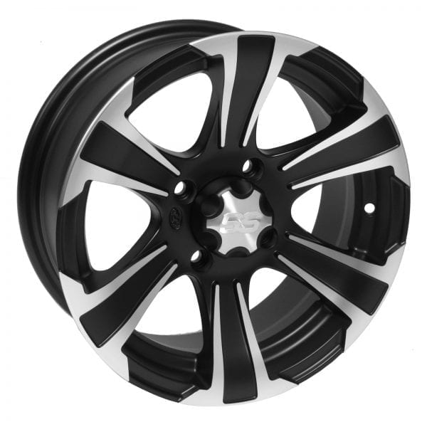 Колесный диск SS ALLOY SS312 14x8 Black w/Machined