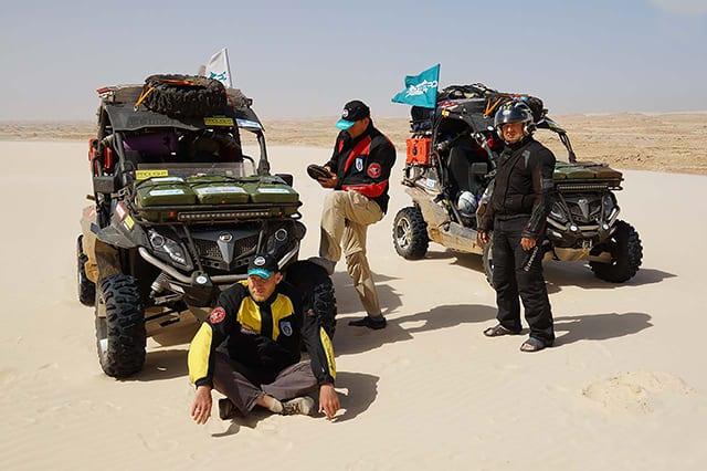 Экспедиция уже в Мавритании!