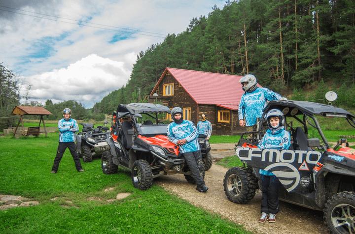 Путешествие команды CFMOTO Club в Перми