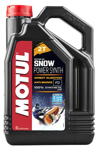 Масло MOTUL SNOWPOWER SYNTH 2T (4л) 108210