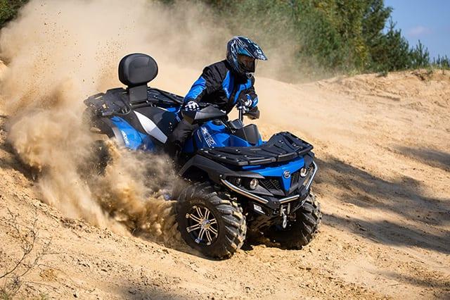 Квадроцикл CFMOTO X5 H.O. EPS выходит в продажу