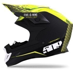 509  Шлем  Altitude Carbon Fidlock,Off Grid Hi-Vis