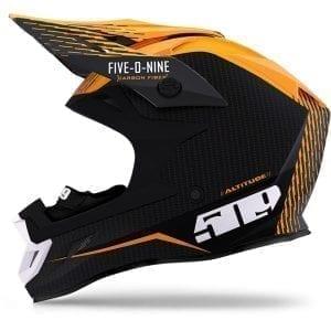 509  Шлем  Altitude Carbon Fidlock Off Grid Orange