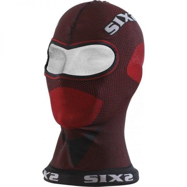 Балаклава SIXS DBX Унисекс, Carbon (DARK RED, OS) 8-DBX-08-OS