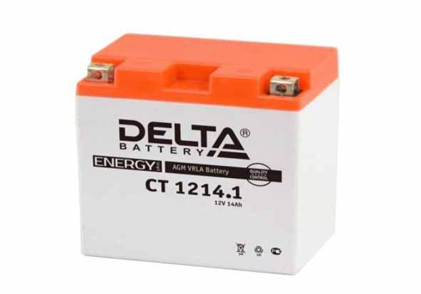 Delta CT 1214.1 аккумулятор для квадроцикла