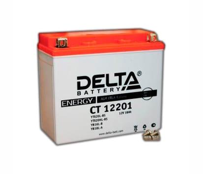 DELTA CT 12201 аккумулятор для квадроцикла