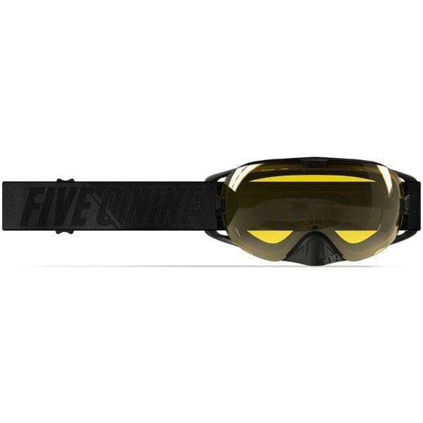 509 Очки  Revolver, взрослые (Black with Yellow)