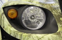 Свет Rigid в мотосалоне Квадропарк