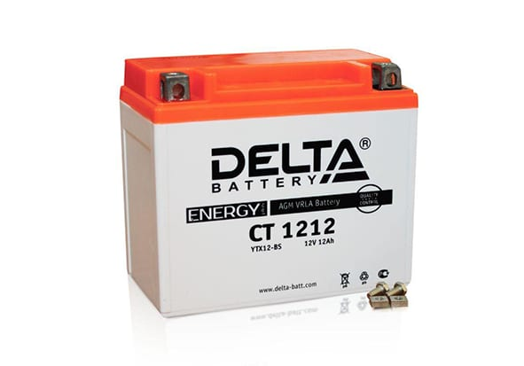 Delta CT 1212 аккумулятор для квадроцикла