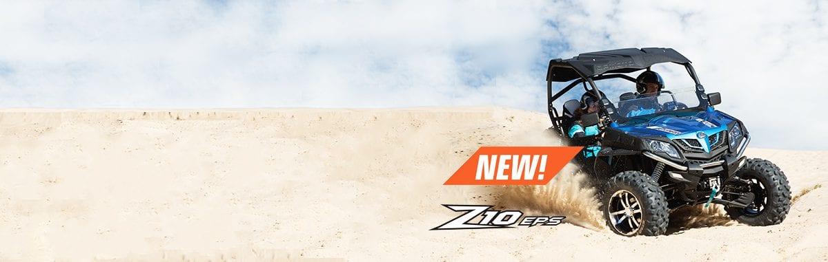 Новый мощный спортивный мотовездеход CFMOTO Z10 EPS!