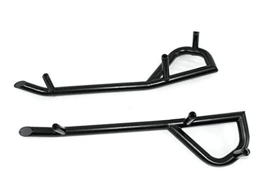Защита порогов / K-RCK SLDR STEEL M.BLK 2879456-458