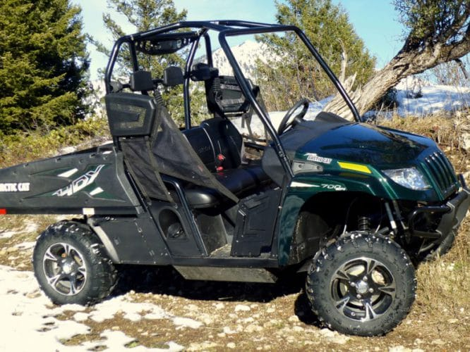 Обзор Arctic Cat Prowler 700 HDX Limited 2014