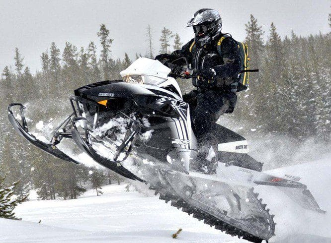 Обзор Arctic Cat XF 8000 High Country 2014