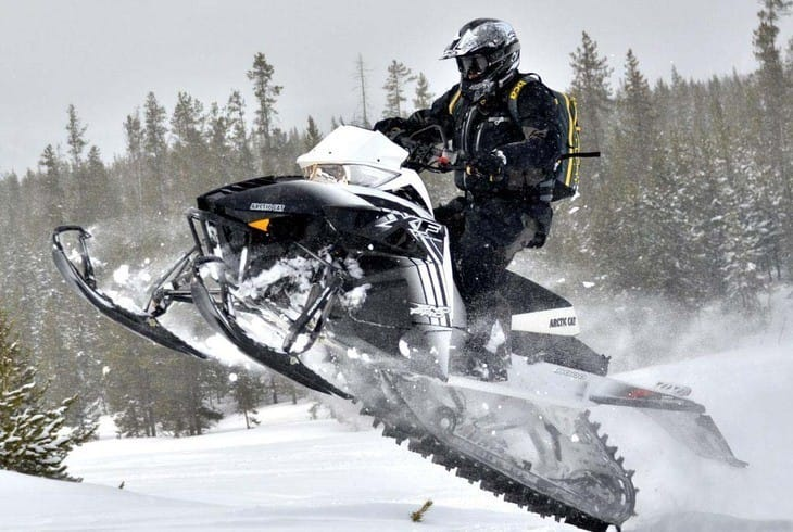 Обзор Arctic Cat XF 8000 High Country 2014